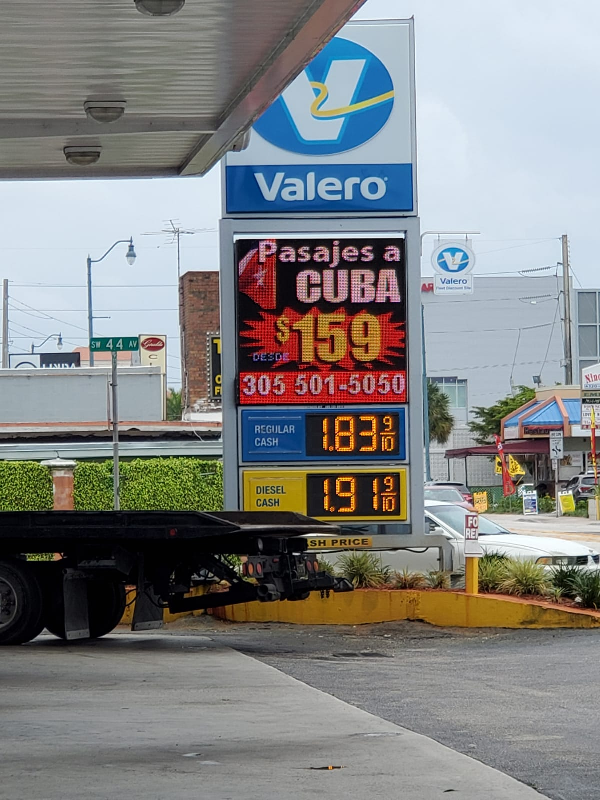 Gass Station LED Display Signs